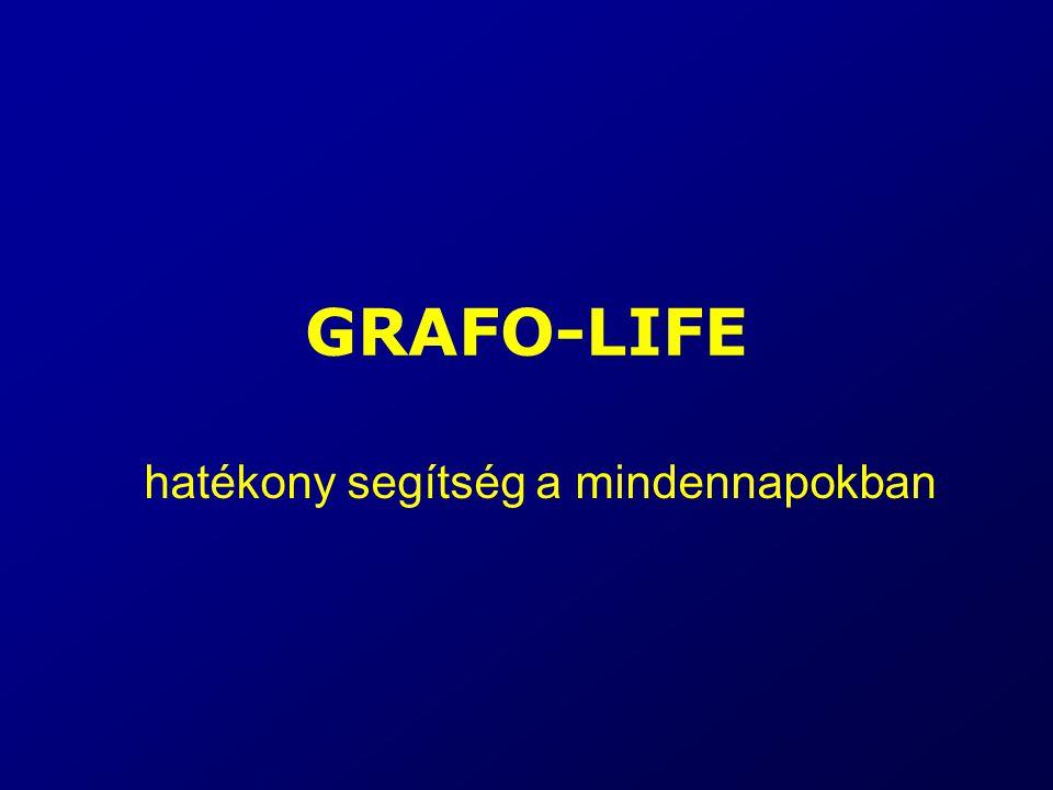GRAFO-LIFE hatékony segítség a mindennapokban