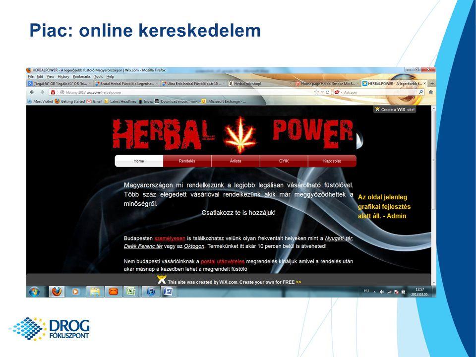 Piac: online kereskedelem