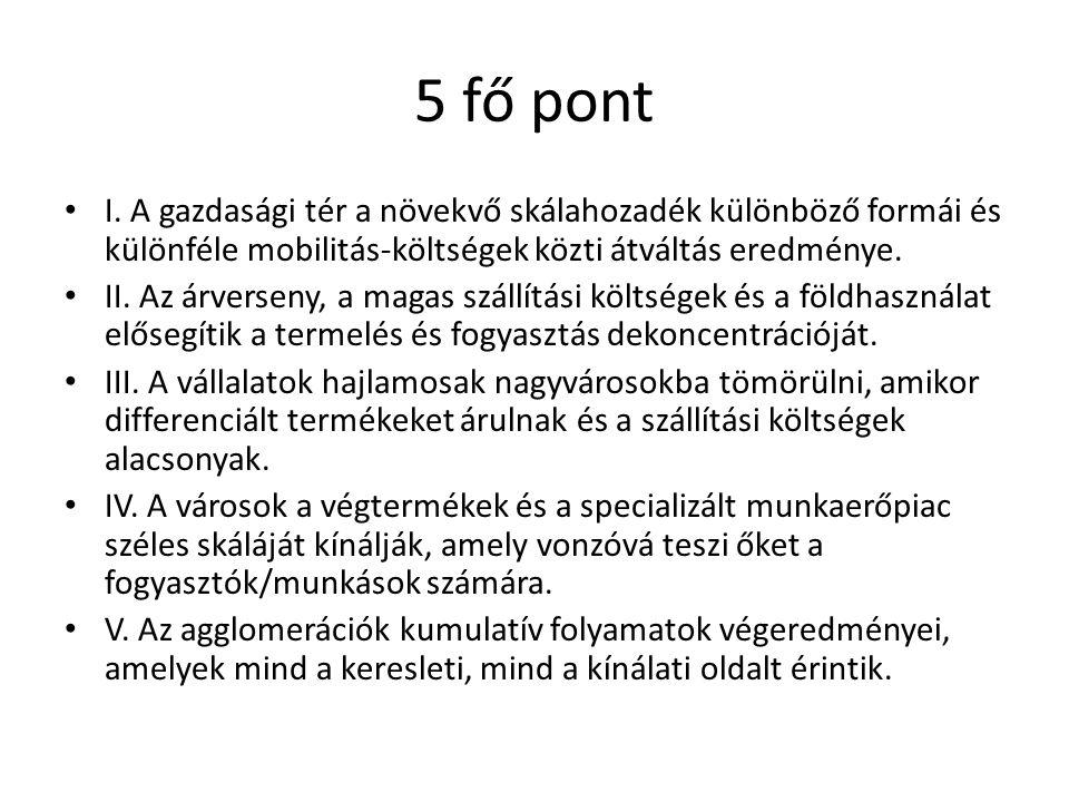 5 fő pont I.