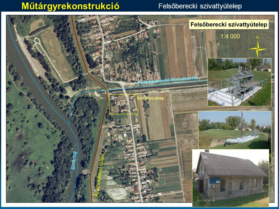 Műtárgyrekonstrukció Felsőberecki szivattyútelep