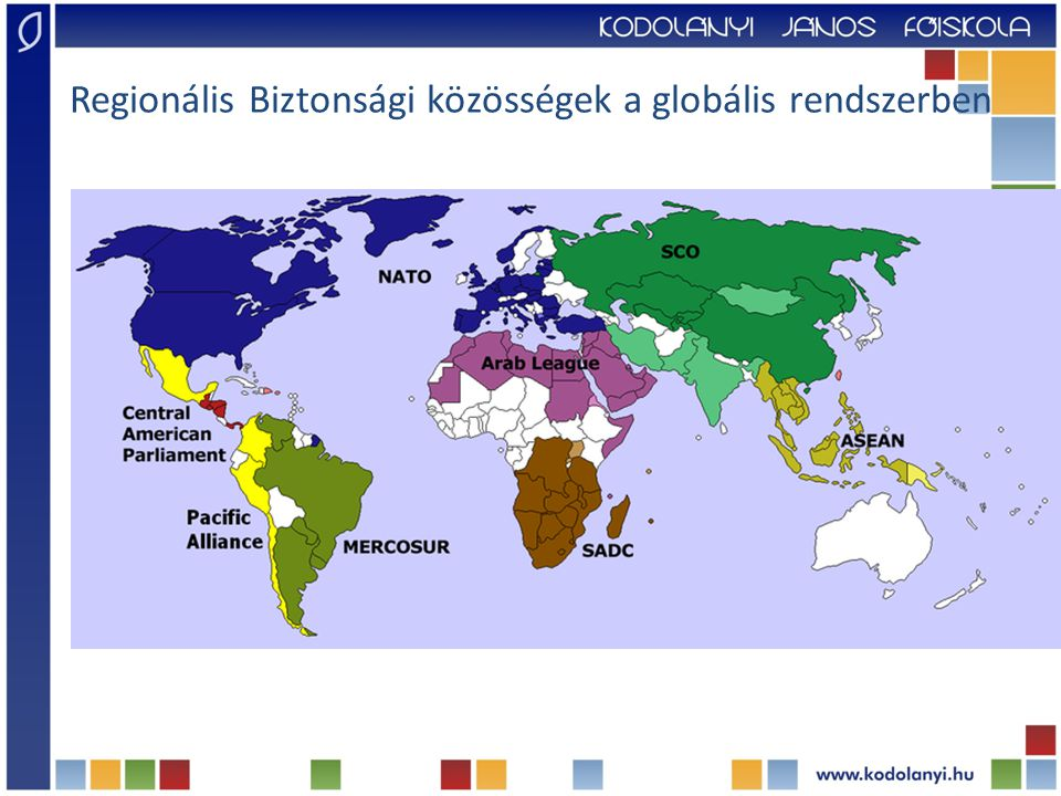 Regionális Biztonsági közösségek a globális rendszerben