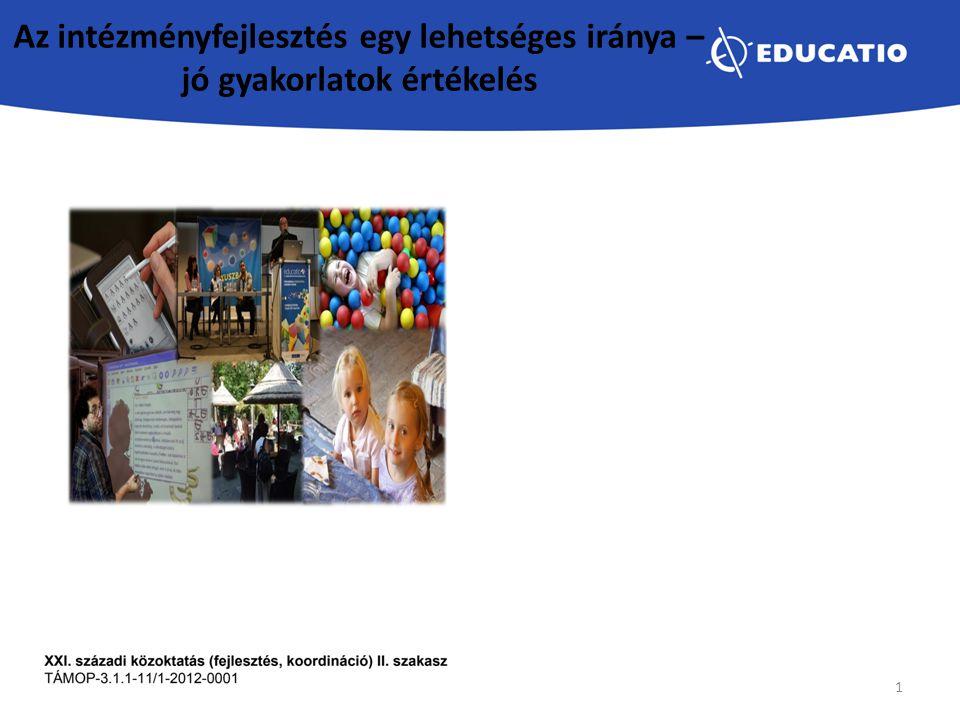 Referenciaintézmény  egyedi,  más intézmények számára is példaértékű,  működésében koherens,  befogadó,  gyermekközpontú pedagógiai gyakorlattal,  szervezeti innovációval rendelkező, szolgáltatásaiban publikálni és azt átadni képes intézmény 2