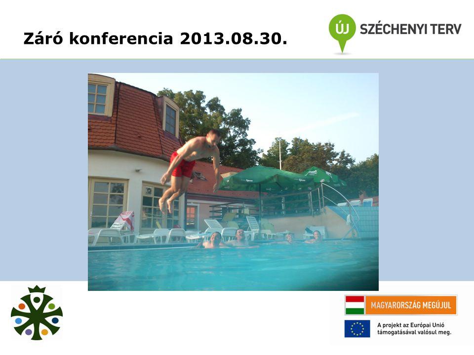 Záró konferencia 2013.08.30.