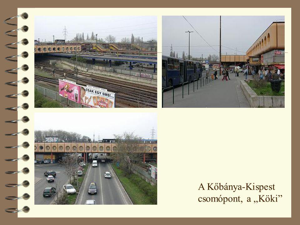 """A Kőbánya-Kispest csomópont, a """"Köki"""""""