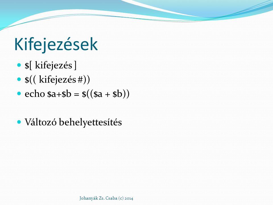 Paraméterek Johanyák Zs. Csaba (c) 2014