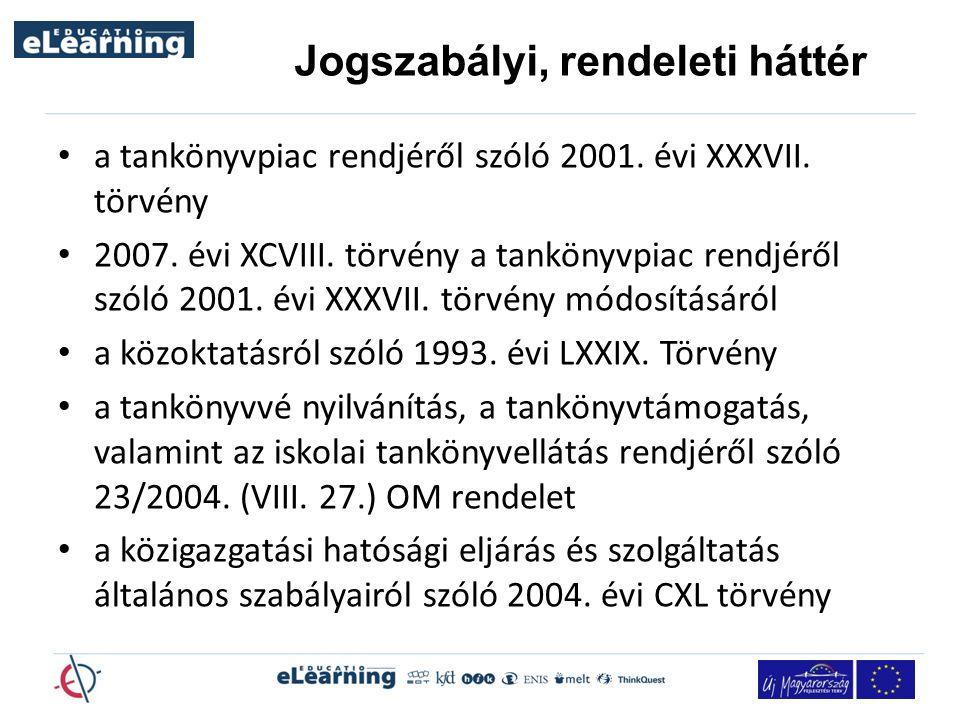 a tankönyvpiac rendjéről szóló 2001.évi XXXVII. törvény 2007.
