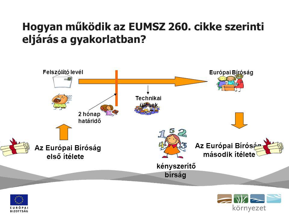 Hogyan működik az EUMSZ 260. cikke szerinti eljárás a gyakorlatban.
