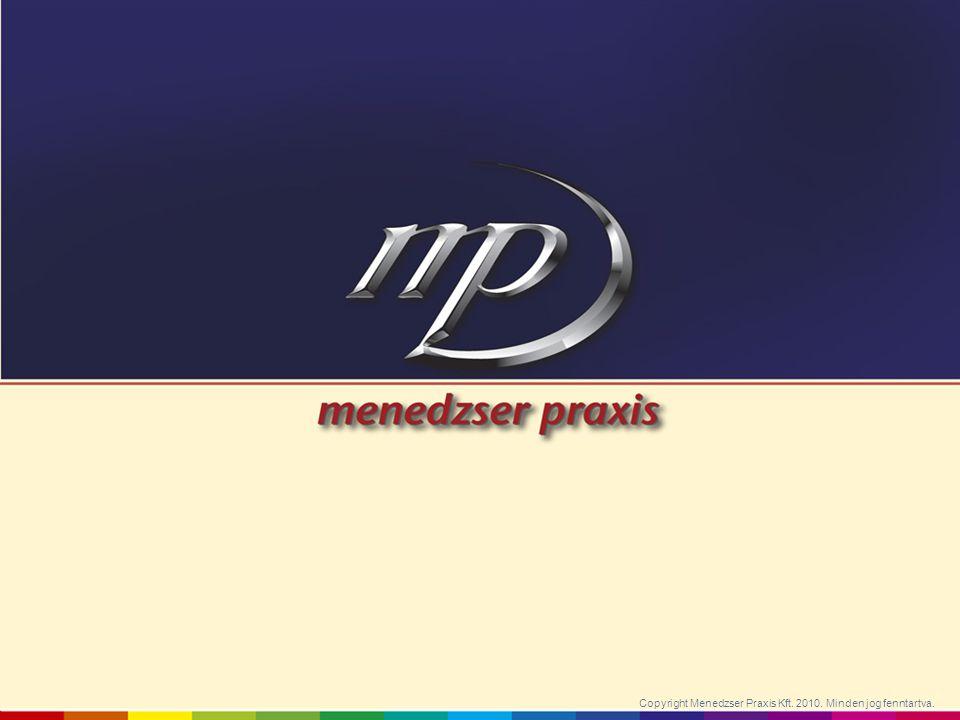 Copyright Menedzser Praxis Kft. 2010. Minden jog fenntartva.