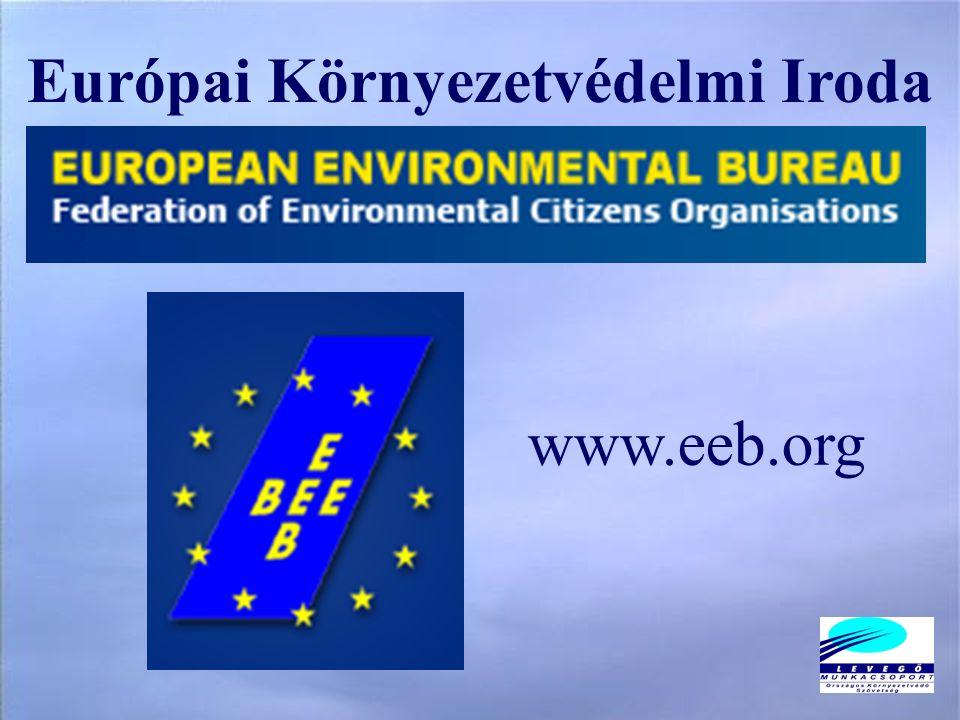 Európai Környezetvédelmi Iroda www.eeb.org