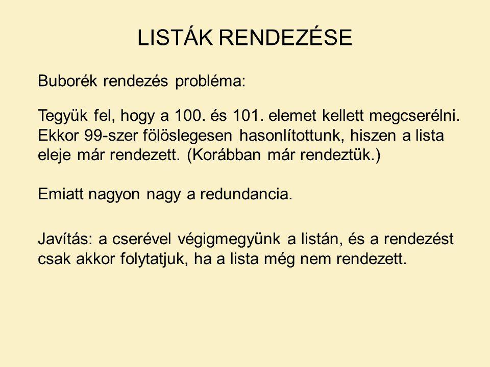 Faépítés: BINÁRIS FA epit(Regifa,Keszfa):- read(Elem),Elem\==end_of_file, beszur(Elem,Regifa,Ujfa), epit(Ujfa, Keszfa).