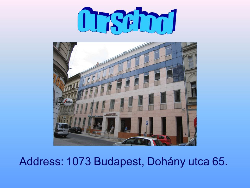 The history of the Dohány utca building started in 2005.