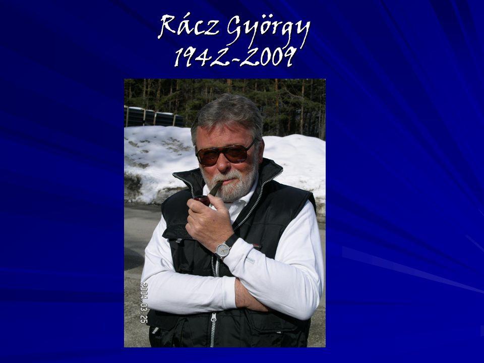 Rácz György 1942-2009