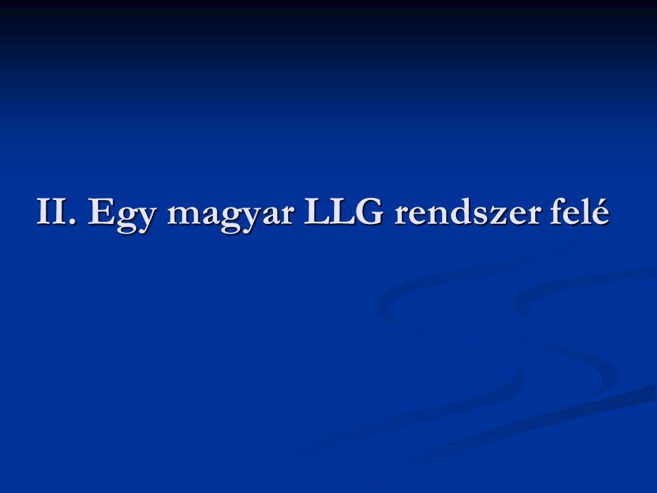 II. Egy magyar LLG rendszer felé