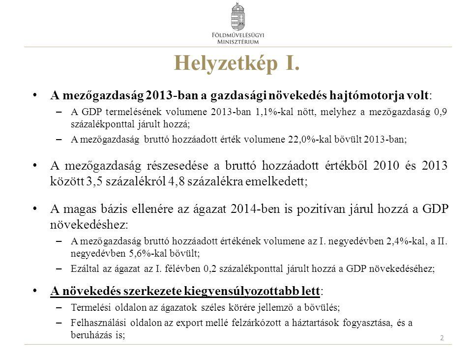 """A közvetlen támogatások új rendszere Magyarországon A támogatás feltétele a kölcsönös megfeleltetés intézkedéseinek betartása Kötelező elemek Önkéntes elem Alaptámogatás (SAPS) """"Zöld komponens Fiatal gazdálkodóknak juttatott támogatás Termeléshez kötött támogatás VAGY + A kisgazdaságok számára kialakított egyszerűsített támogatási rendszer Az ország számára önkéntes, a gazdák számára választható elem Degresszivitás 13"""