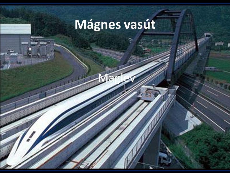 Mágnes vasút A lebegő mágnesvasút, vagy gyakran használt angol rövidítéssel maglev [1] vasút olyan vasúti rendszer, amelynél a járművek pályán tartását és hajtását a hagyományos kerekek helyett mágneses mező végzi.