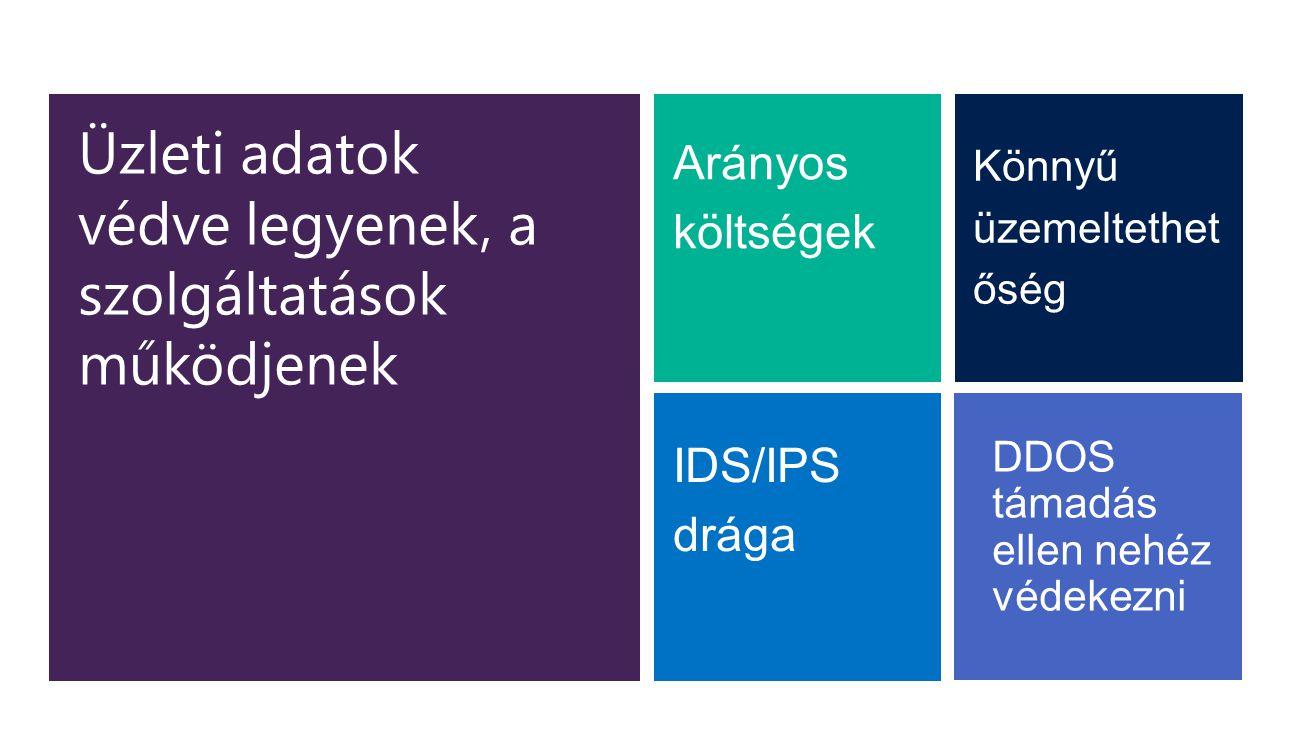 Üzleti adatok védve legyenek, a szolgáltatások működjenek DDOS támadás ellen nehéz védekezni