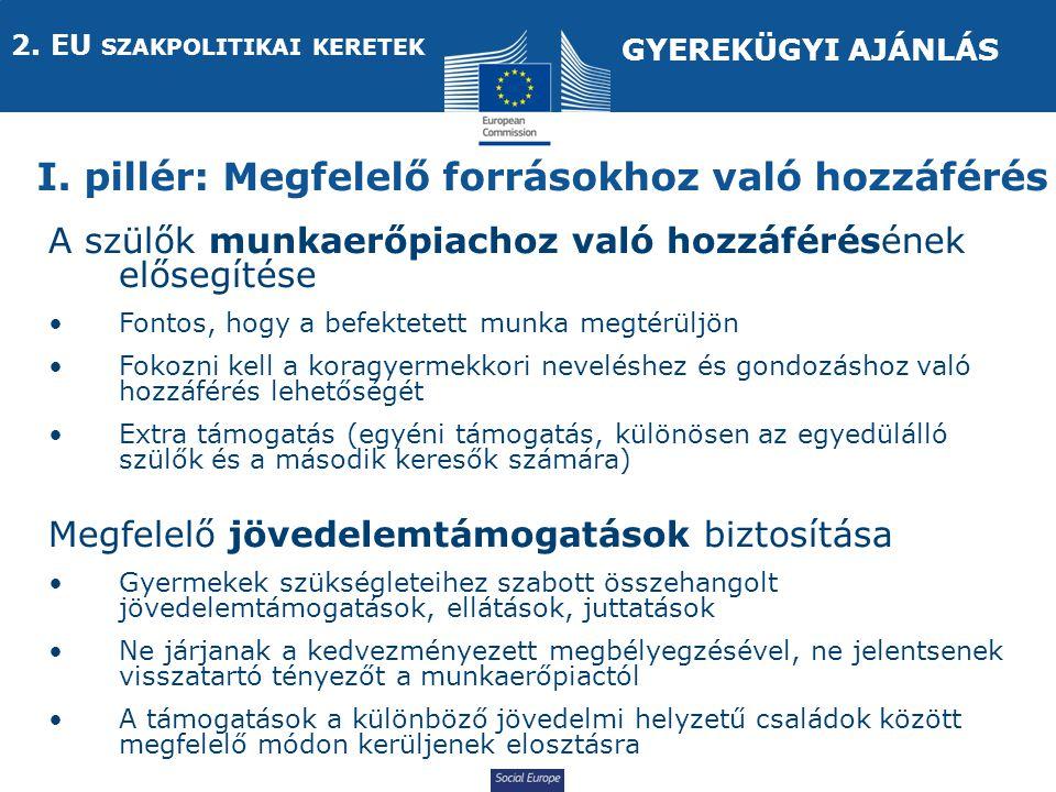Social Europe I.