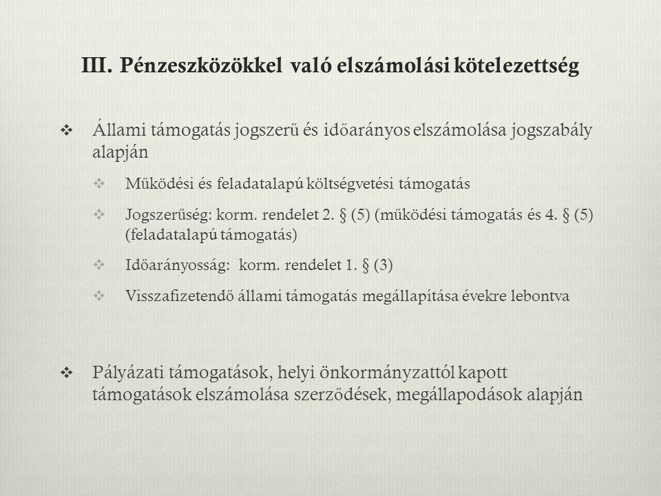IV.Egyebek  Törzskönyvi nyilvántartásból való törlés (Ávr.