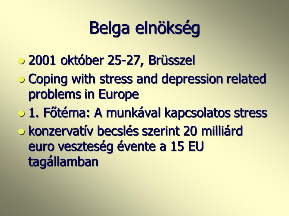EU konferenciák 1999 Tampere - Finn elnökség idején meghívott előadó voltam: a közép-kelet- európai helyzet- együttműködés Lennart Levivel- WPA Occupa