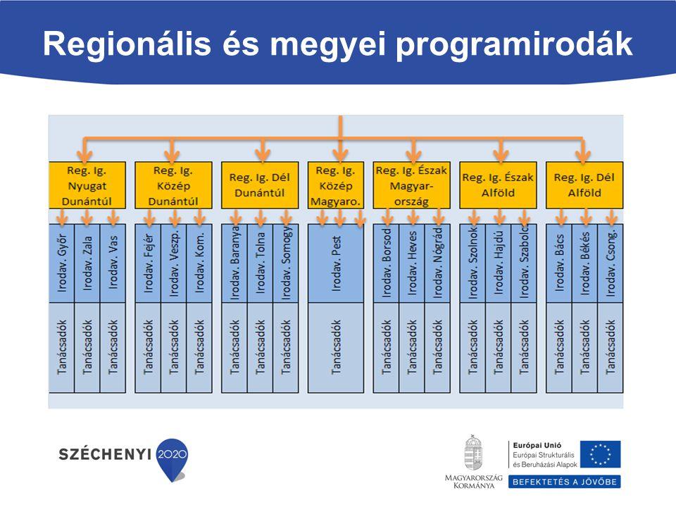 Regionális és megyei programirodák