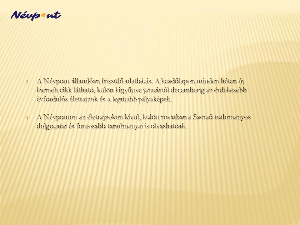 1.A Névpont Facebook-oldala rövid, kísérleti posztok összeállítása után, 2014.