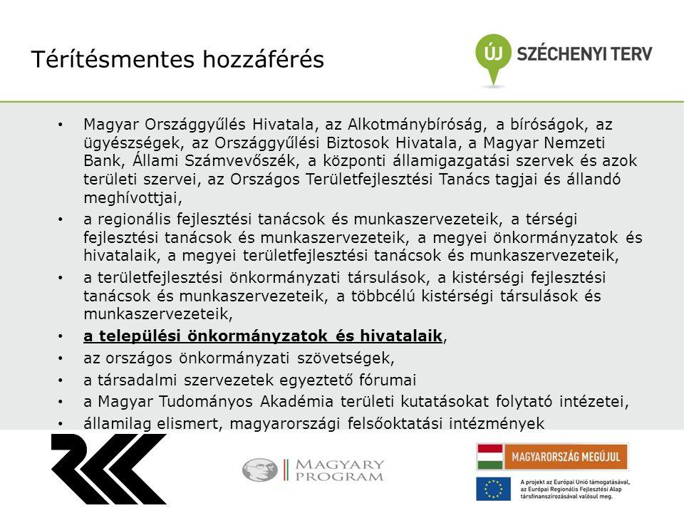 Magyar Országgyűlés Hivatala, az Alkotmánybíróság, a bíróságok, az ügyészségek, az Országgyűlési Biztosok Hivatala, a Magyar Nemzeti Bank, Állami Szám