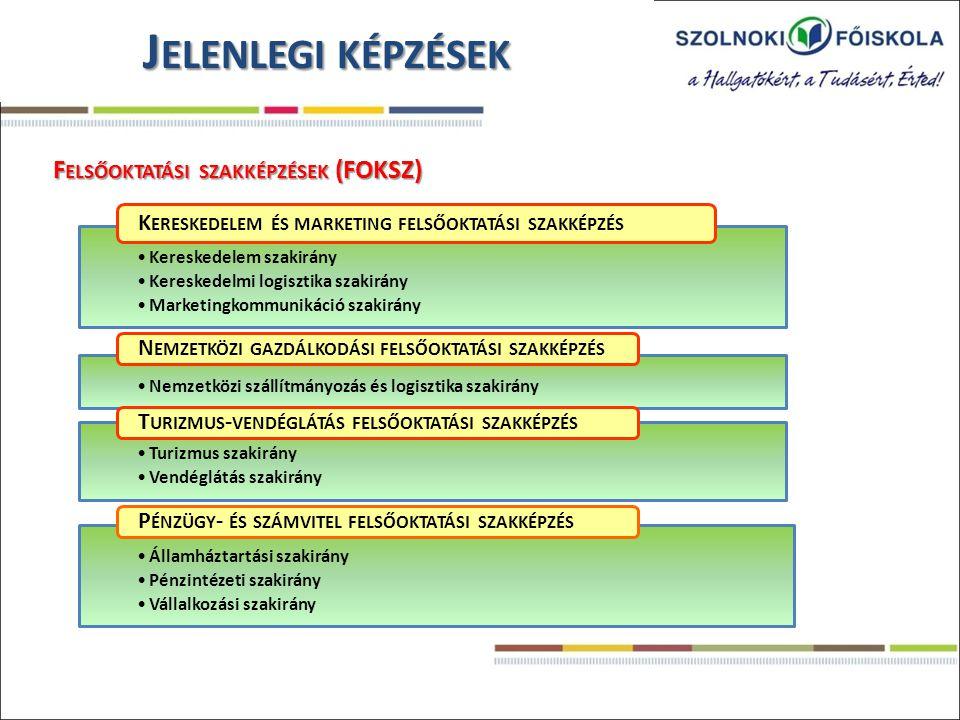 Kereskedelem szakirány Kereskedelmi logisztika szakirány Marketingkommunikáció szakirány K ERESKEDELEM ÉS MARKETING FELSŐOKTATÁSI SZAKKÉPZÉS Nemzetköz