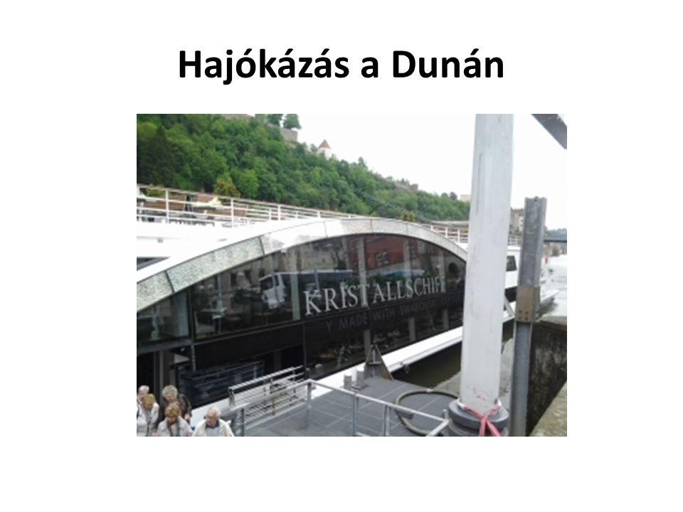 Hajókázás a Dunán