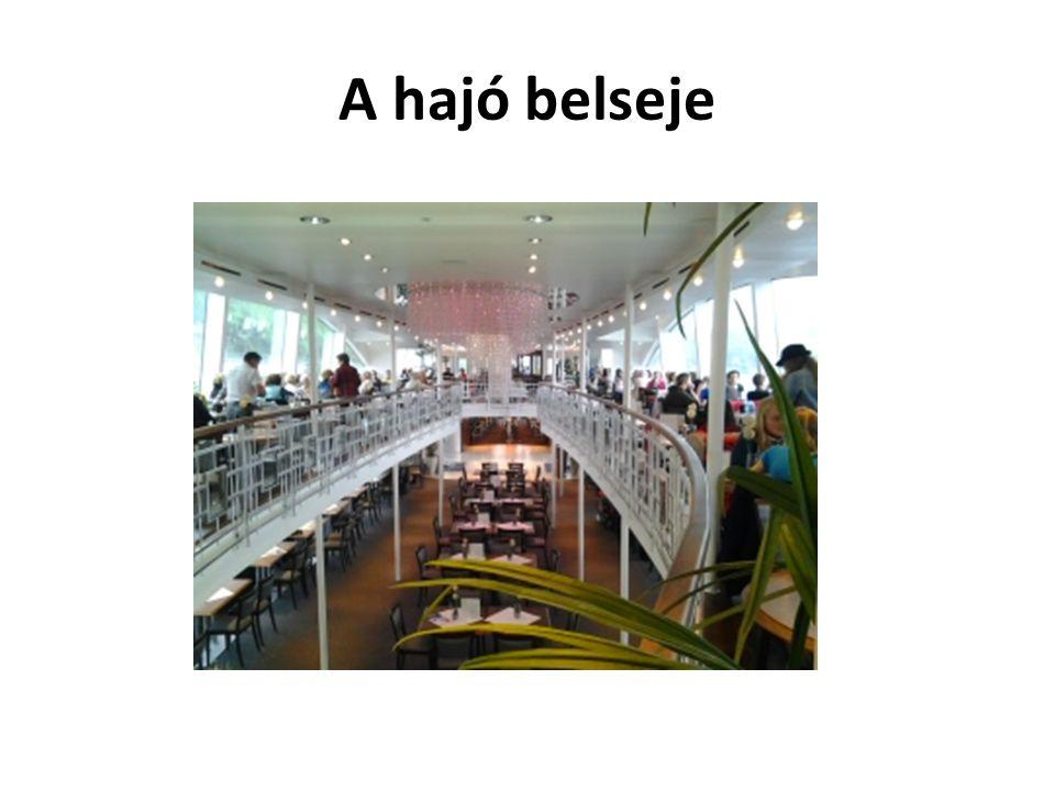 A hajó belseje