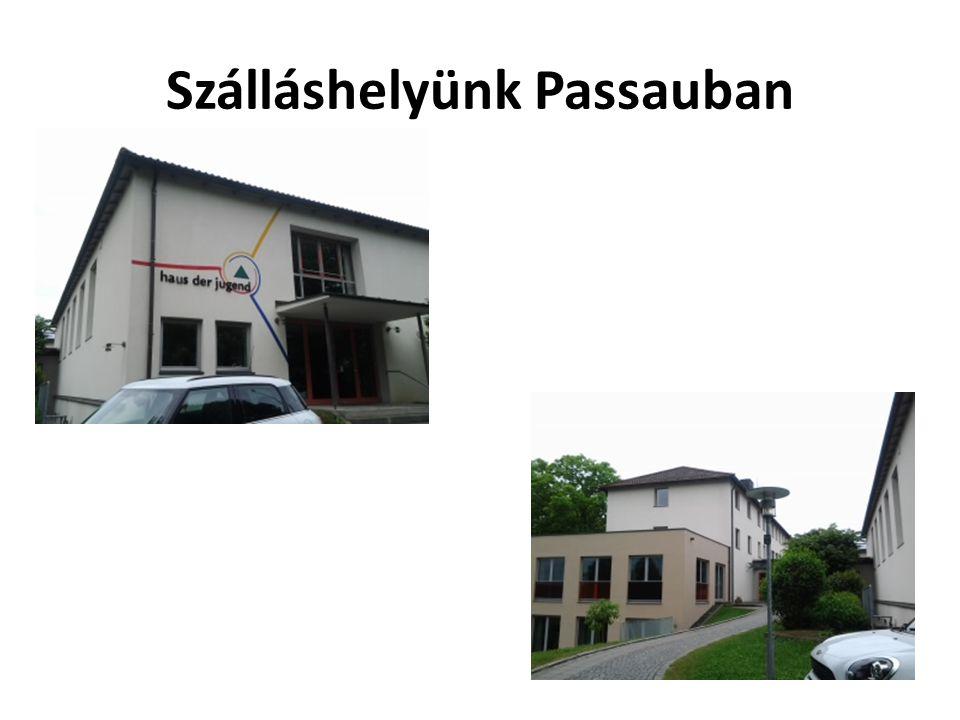 Szálláshelyünk Passauban