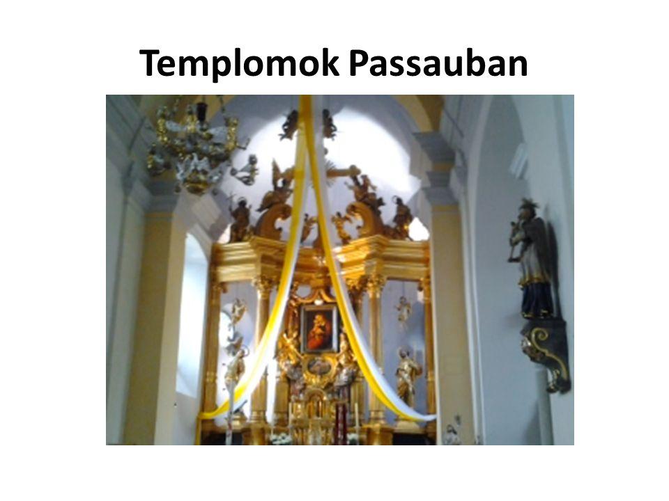 Templomok Passauban