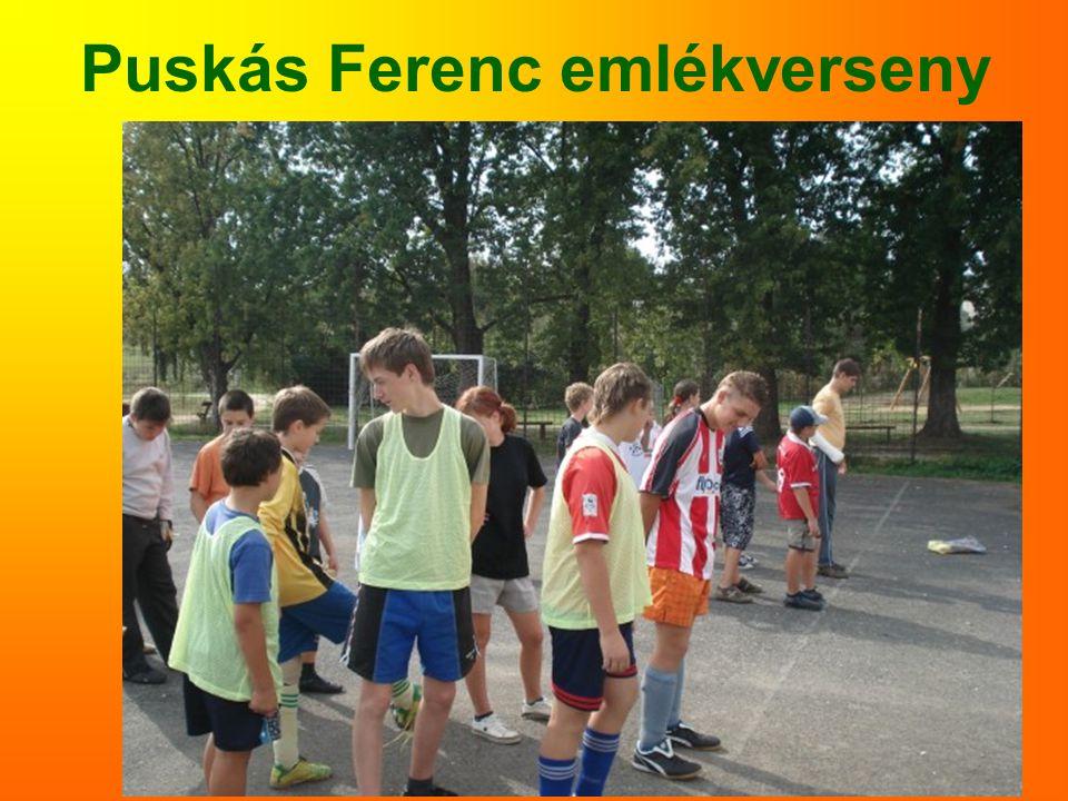 Puskás Ferenc emlékverseny