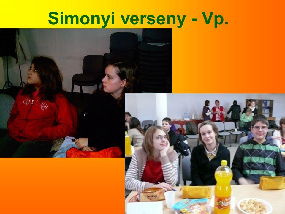 Simonyi verseny - Vp.