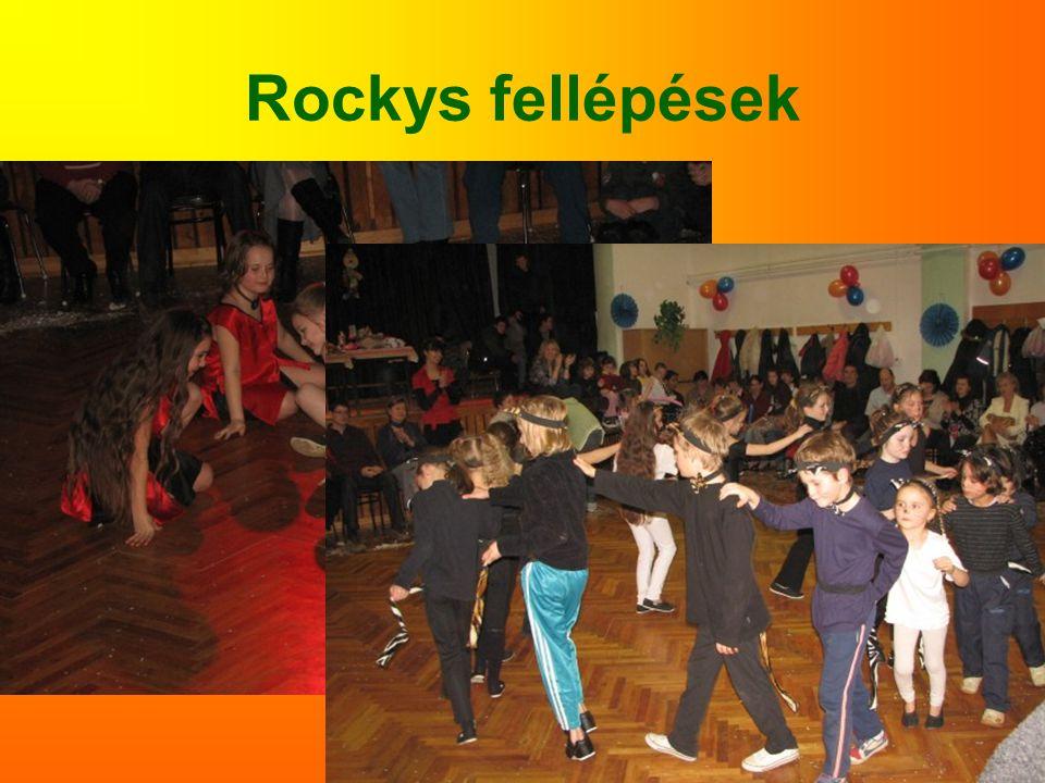 Rockys fellépések