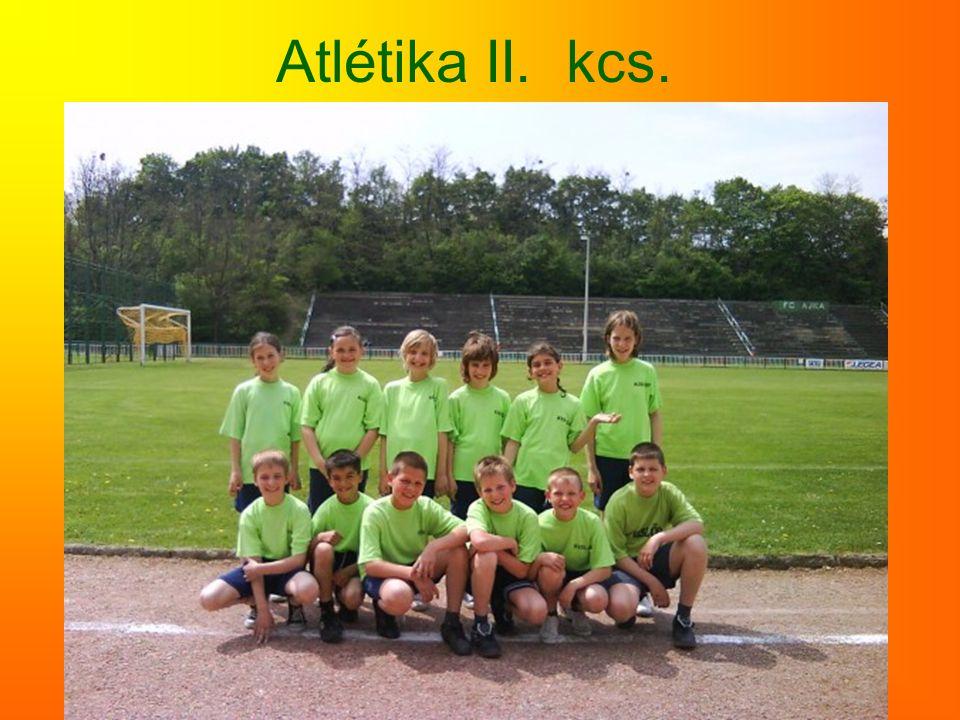 Atlétika II. kcs.