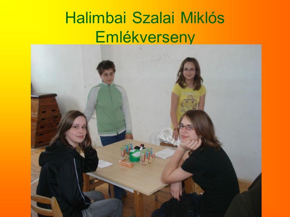 Halimbai Szalai Miklós Emlékverseny