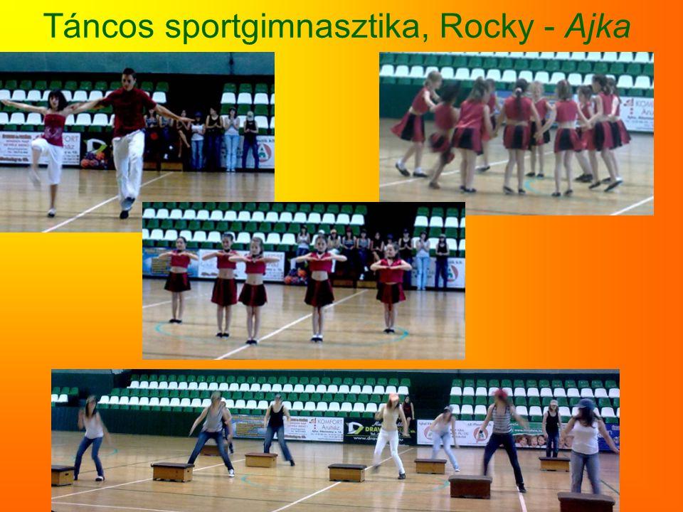 Táncos sportgimnasztika, Rocky - Ajka