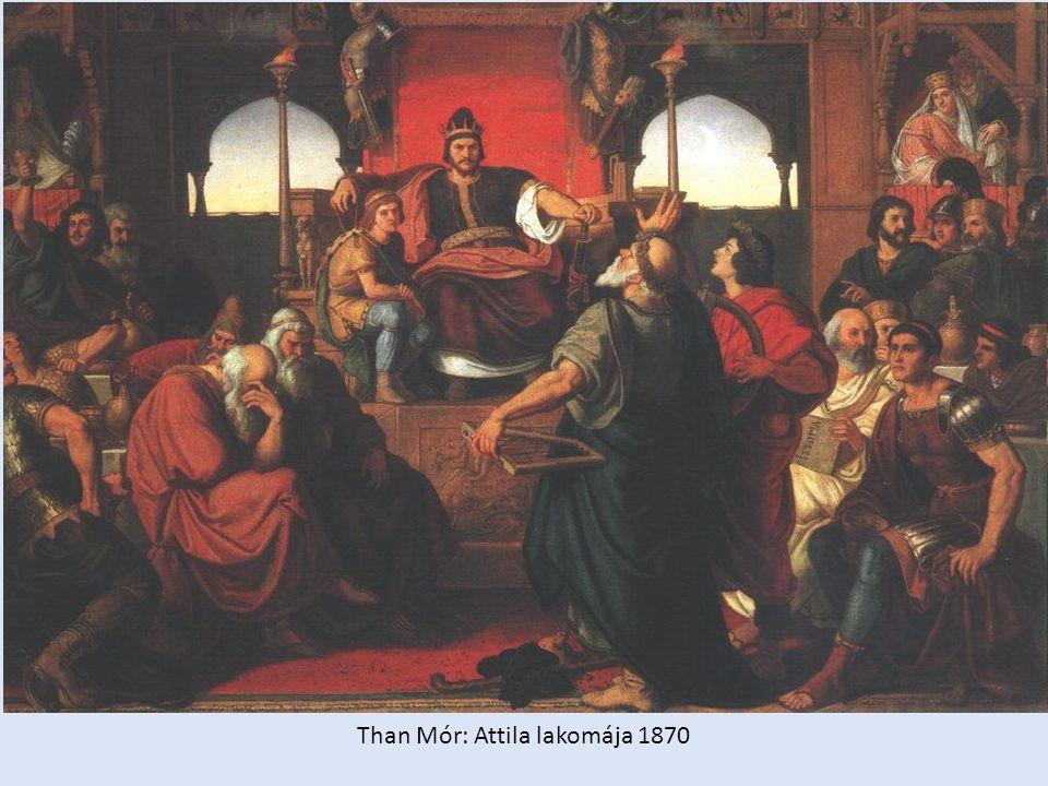 Than Mór: Attila lakomája 1870