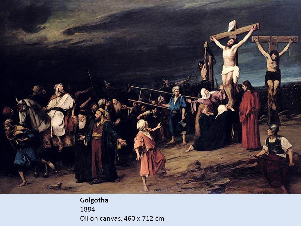 Golgotha 1884 Oil on canvas, 460 x 712 cm
