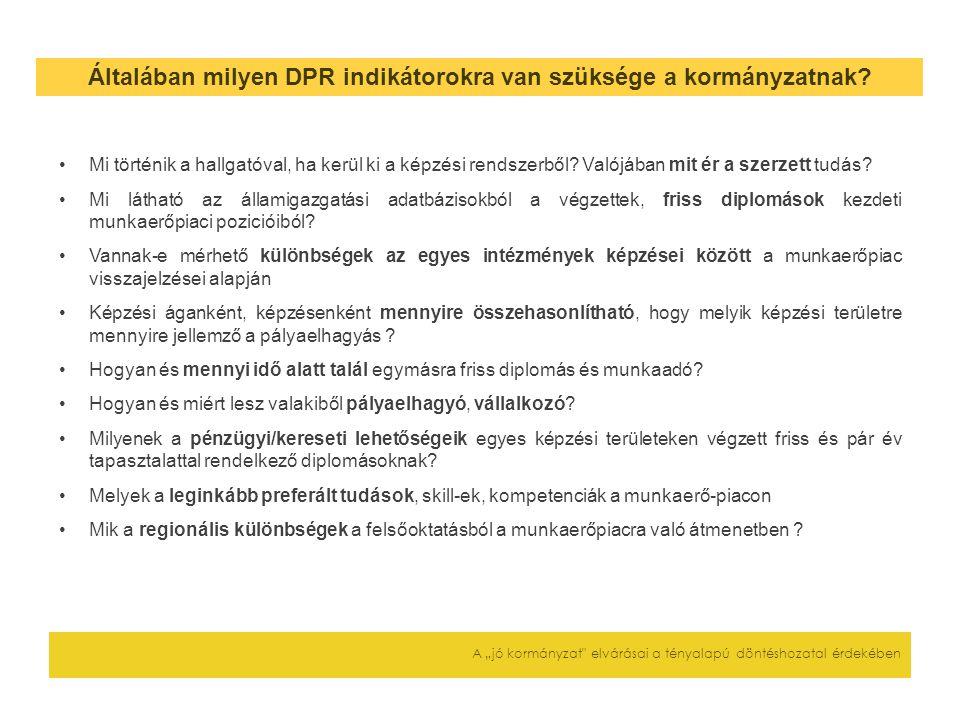 """További teendők A """"jó kormányzat elvárásai a tényalapú döntéshozatal érdekében (Jog)szabályok kialakítása (AVIR, DPR) Az intézményi VIR/DPR pályázatokon nem nyertes intézmények bevonása a rendszerbe szakmai szempontból indokolható menetrend: -2011/12-ben már ezen a rendszeren keresztül is kell szolgáltatni a hivatalos adatokat; -2012/13-ban ez a rendszer lesz a hivatalos (komolyan kell venni a saját fejlesztéseket a FIR-hez hasonló problémák elkerüléséhez) Minden ágazati irányításban közreműködő szervezet, intézmény számára rendelkezésre kell állnia az adekvát IT infrastruktúra háttérnek és szakmai kapacitásnak A következő fejlesztési szakasz végére tisztán kell látni, hogyan kapcsolódhatnak a jelenlegi adattárhoz további, az oktatási kormányzat stratégiáját, döntéseit szolgáló, releváns adatrendszerek és azok interoperábilisak-e (pl."""