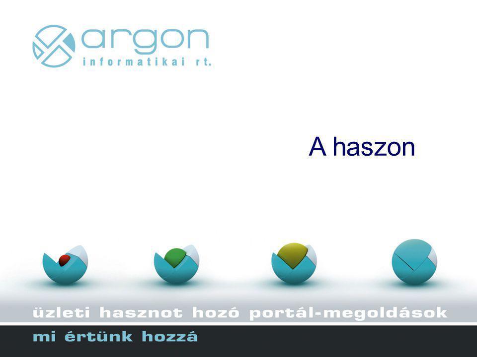 A haszon