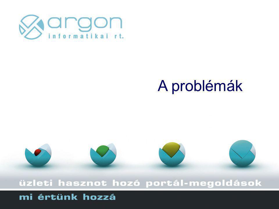 A problémák