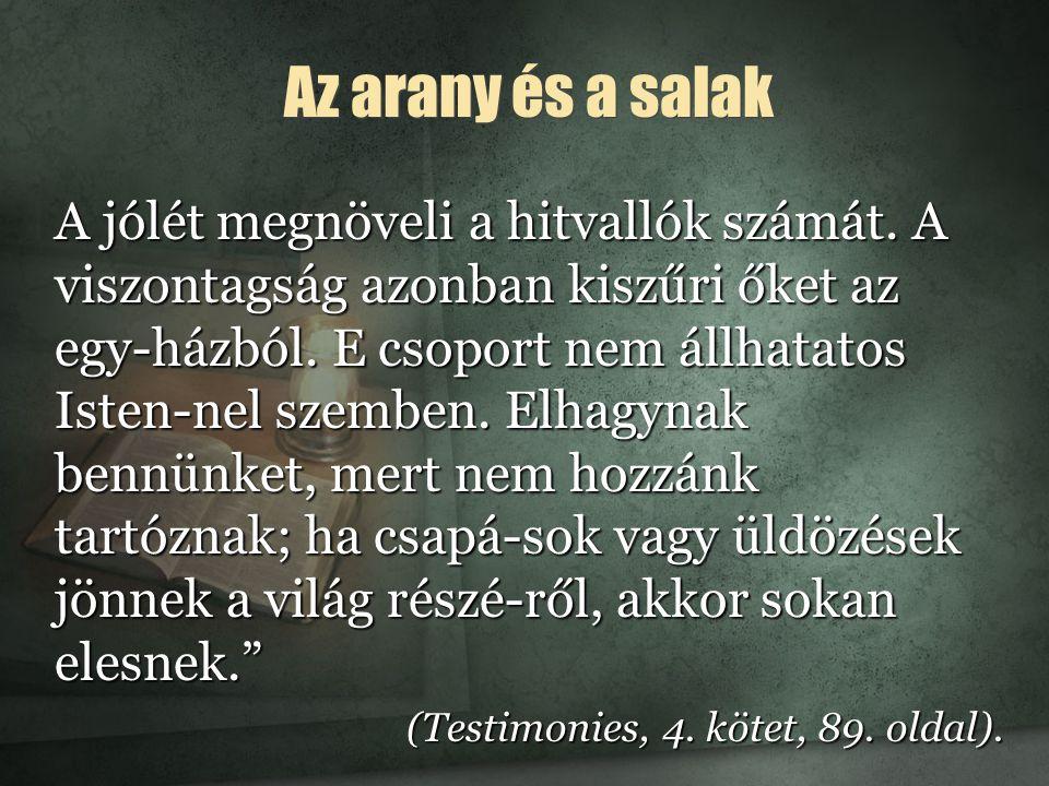 Csupán két osztály Isten figyelmeztetett minket, hogy az utolsó napokban Sátán jeleket és csodákat fog vég- hezvinni.