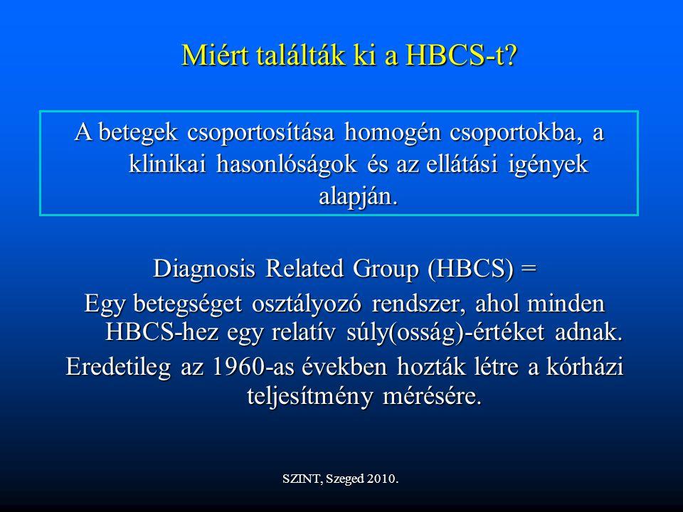 Miért találták ki a HBCS-t.