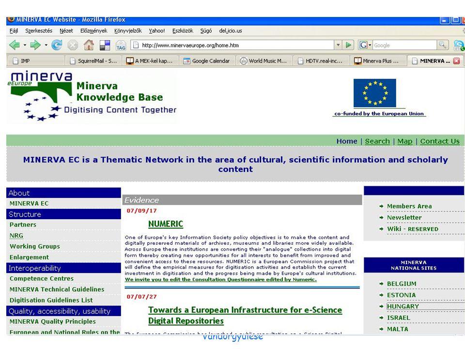 2007. október 12.Erdélyi Magyar könyvtárosok IV. Vándorgyűlése Nemzetközi kitekintés 1.