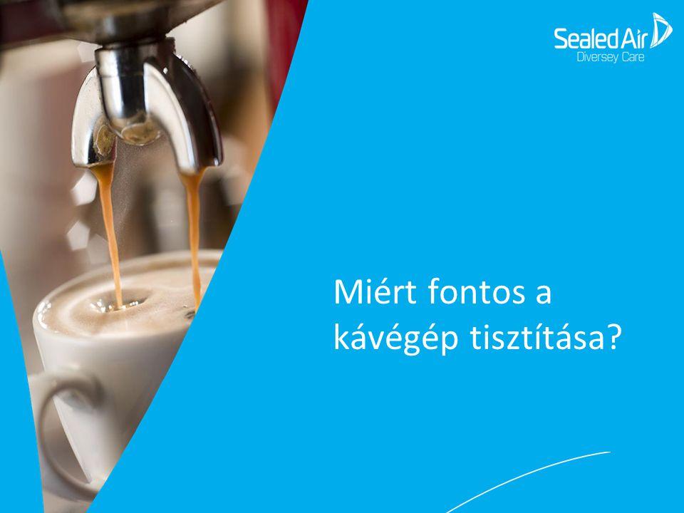 Vevői szemszögből… ✓ Vevő megtartás - Egy tiszta kávégéppel finomabb a lefőzött kávé.