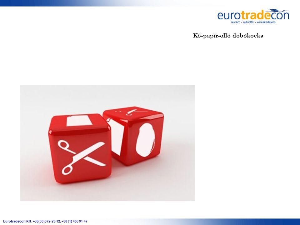 Eurotradecon Kft. +36(30)372-23-12, +36 (1) 456 91 47 Kő-papír-olló dobókocka