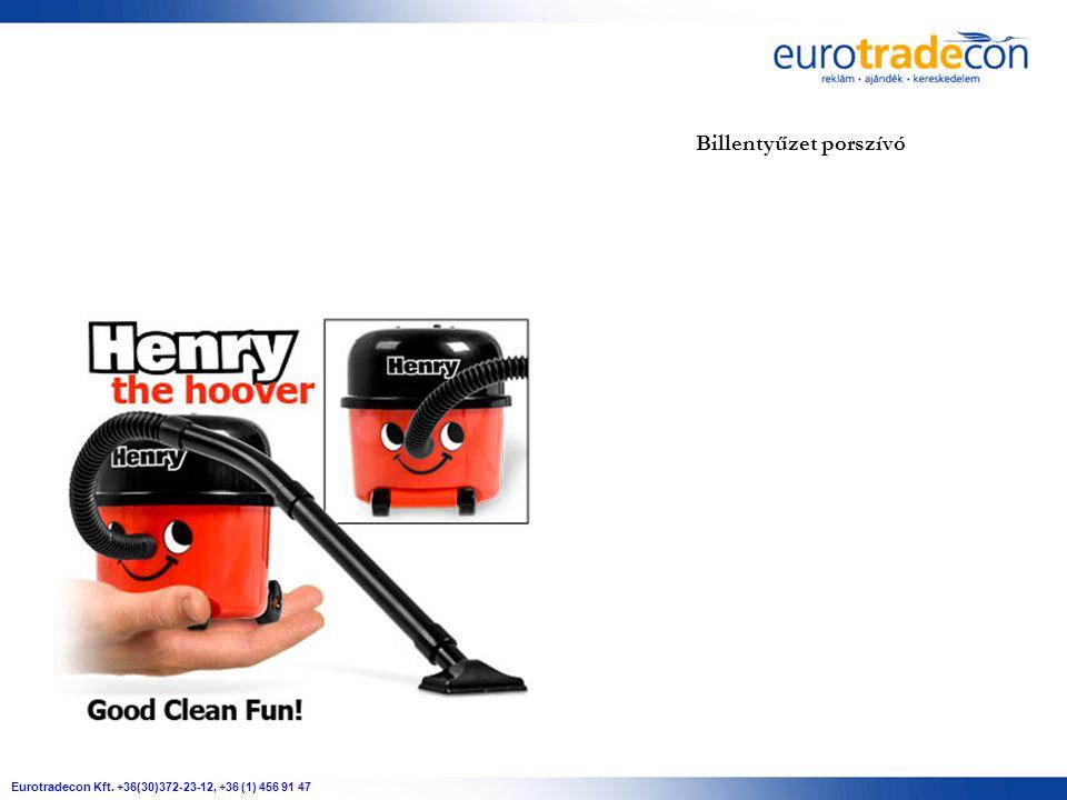 Eurotradecon Kft. +36(30)372-23-12, +36 (1) 456 91 47 Billentyűzet porszívó