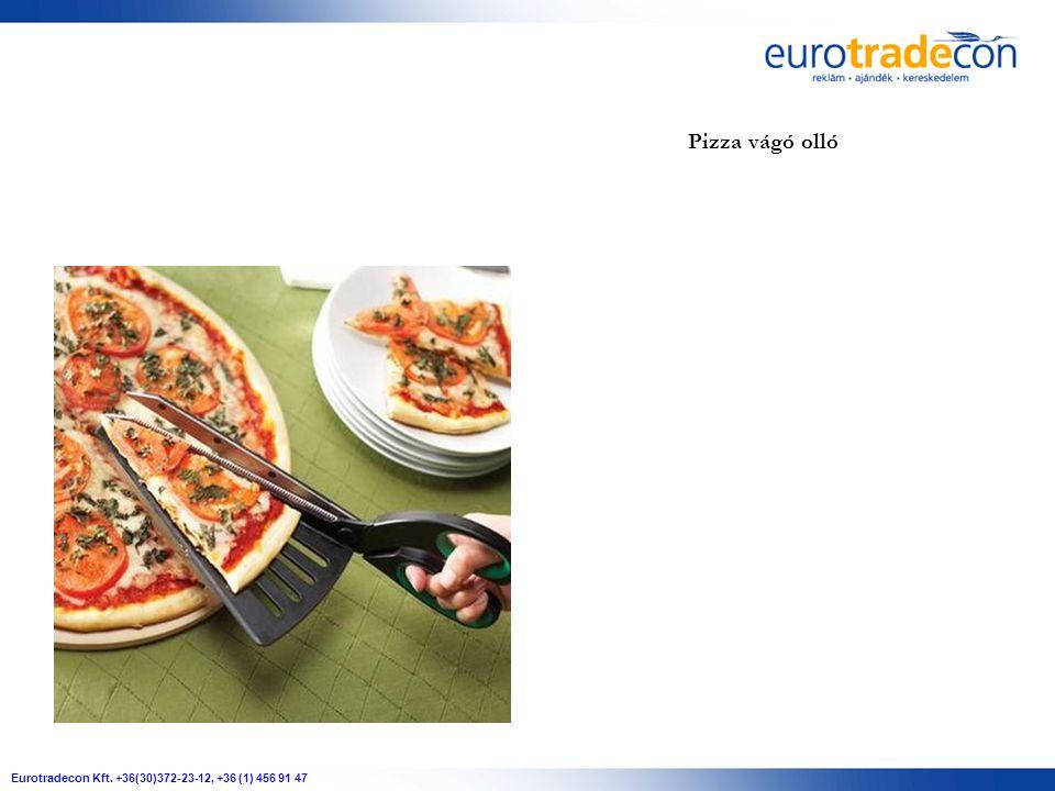 Eurotradecon Kft. +36(30)372-23-12, +36 (1) 456 91 47 Pizza vágó olló