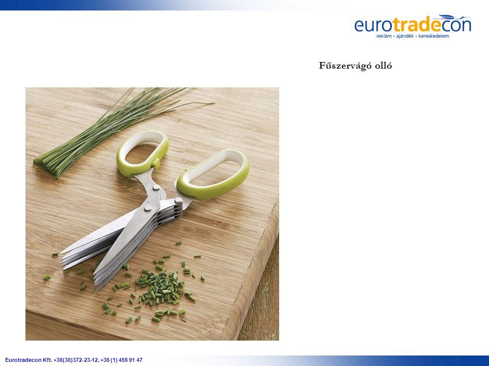 Eurotradecon Kft. +36(30)372-23-12, +36 (1) 456 91 47 Fűszervágó olló